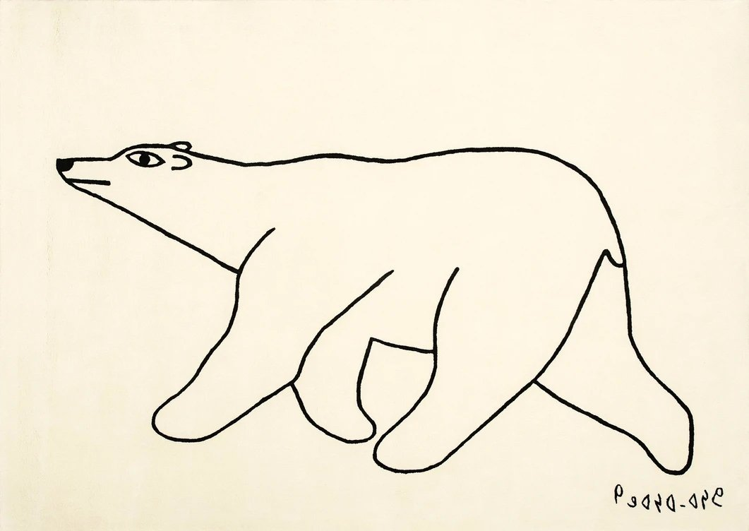 Original drawings created by Cape Dorset artists are Celebrated on Textiles | Artfest Ontario