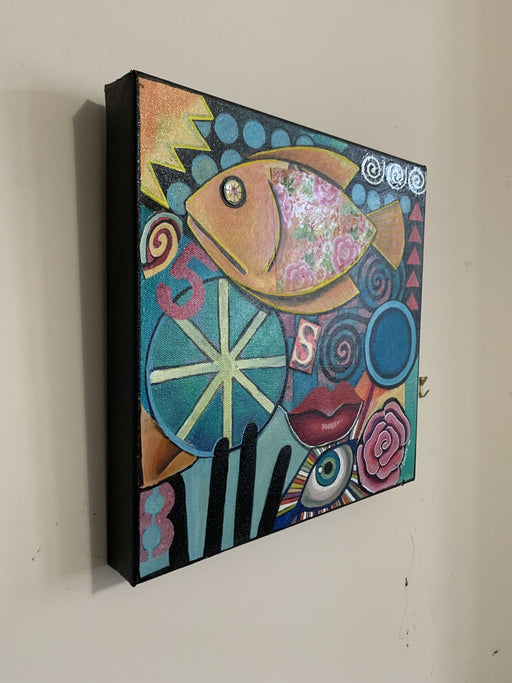 5S Fish - Artfest Ontario - Sue Davies Art - Paintings