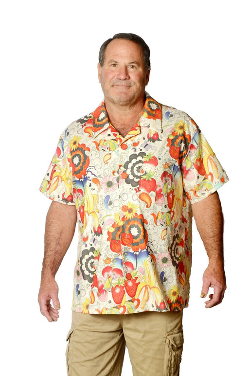 Afternoon Delight Pattern - Hawaiian Shirt - Artfest Ontario - Joe-Feak - Clothing & Accessories