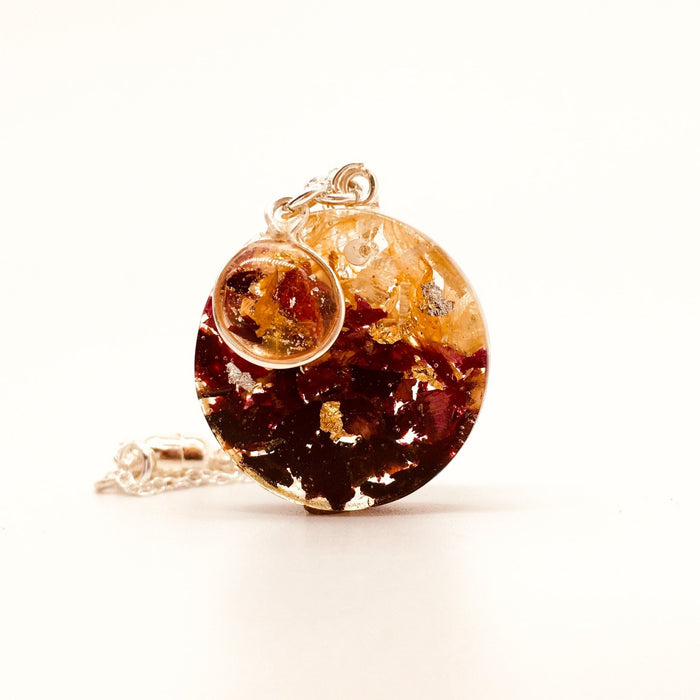 Afternoon Tea Pendant- Small Round - Artfest Ontario - Studio Degas - Jewelry & Accessories
