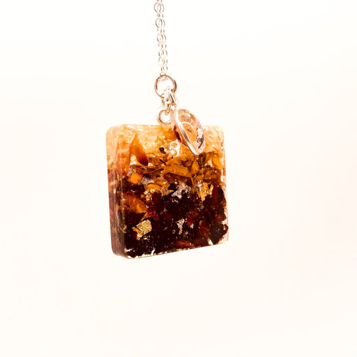 Afternoon Tea Pendant- Square - Artfest Ontario - Studio Degas - Jewelry & Accessories