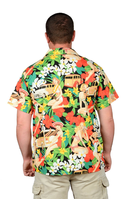 Aloha Girls Retro Hawaiian Shirt - Artfest Ontario - Joe-Feak - Clothing & Accessories