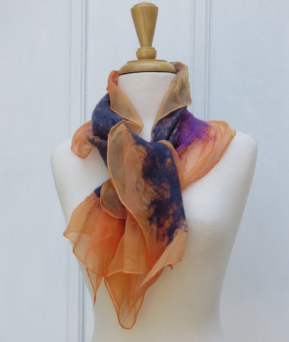 Amber Eve' Silk Scarf - Artfest Ontario - Carolyn M. Barnett Designs - Clothing & Accessories