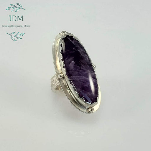 Amethyst Ring - JDM Jewelry Designs by Mikki - Artfest Ontario - JDM - Jewelry Designs by Mikki - Jewelry & Accessories