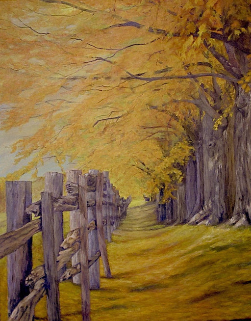AN AUTUMN WALK - Artfest Ontario - BC's Art Studio - Paintings