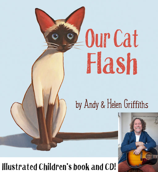Andy Griffiths Our Cat Flash Book - Artfest Ontario - Andy Griffiths - Books and CDs