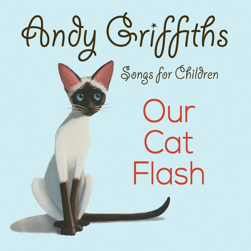 Andy Griffiths Our Cat Flash CD - Artfest Ontario - Andy Griffiths - Books and CDs