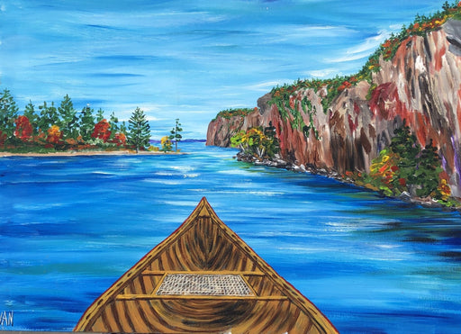 Approaching the Narrows - Artfest Ontario - Art by Ivan - Painting