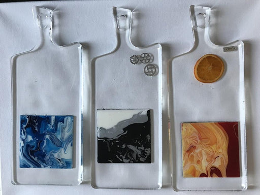 Artistic Serving Trays - Artfest Ontario - Sue Caron - Paintings, Artwork & Sculpture