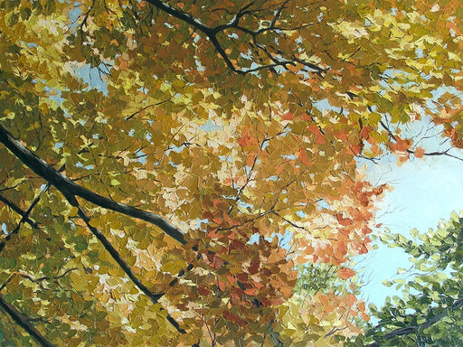 Autumn Branches - Artfest Ontario - Olena Lopatina - Paintings