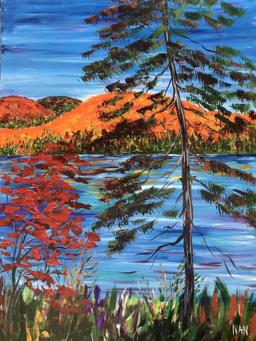 Autumn Hill Algonquin - Artfest Ontario - Art by Ivan - Painting