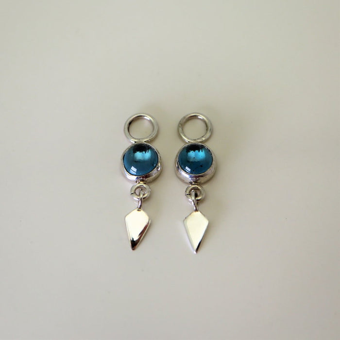 Avro Sterling Silver and Gemstone Earrings - Artfest Ontario - Devine Fine Jewellery - Earrings