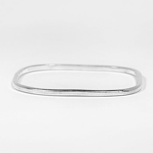B2 Square Sterling Silver Bangle - Artfest Ontario - Devine Fine Jewellery - Bracelet/ Bangle