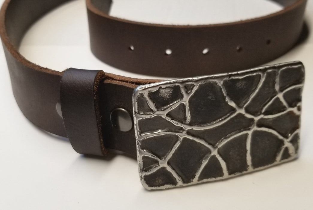 Basketball Hypoallergenic Belt & Buckle Set - Artfest Ontario - Iron Art - Clothing & Accessories