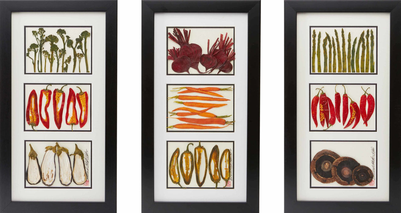 Beets, Carrots, and Peppers - Artfest Ontario - Botanical Art By Diane - Vegetable Art