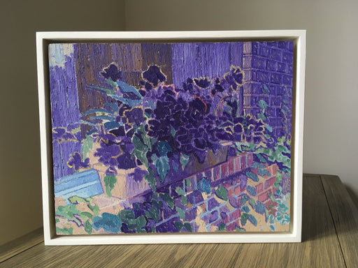 Begonias, Side Yard - Artfest Ontario - Jesse Unsworth - Paintings -Artwork - Sculpture