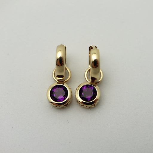 Bella - 14K Gold and Gemstone Earrings - Artfest Ontario - Devine Fine Jewellery - Earrings