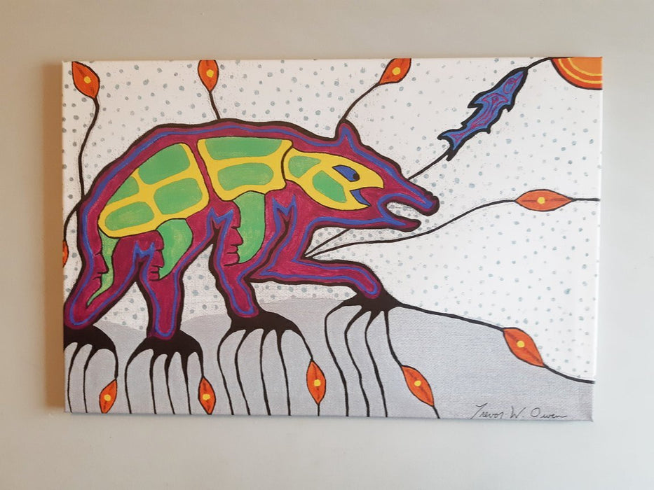 Beyond Our Mother Earth and Universe - Artfest Ontario - Two Native Art - Paintings, Artwork & Sculpture