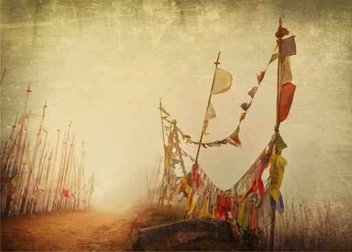 Bhutan I – (Tibetan Prayer Flags – Chele La Pass) - Artfest Ontario - Kleno Photography - Photographic Art
