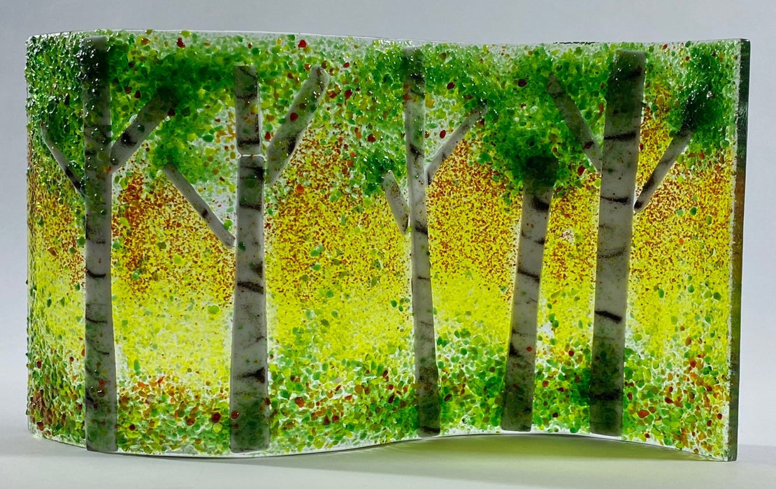 Birch Tree Glass Wave Series - Artfest Ontario - Out of Ruins - Glass Work