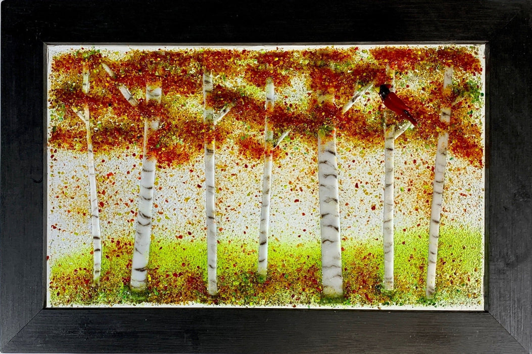 Birch Tree Series - Artfest Ontario - Out of Ruins - Glass Work