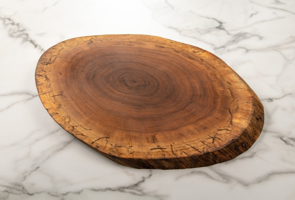 Black Walnut Charcuterie Board without Bark - Artfest Ontario - Live Edged Woodcraft -