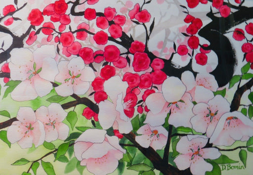 Blossom Time - Artfest Ontario - Back-in-Time Gallery - Paintings by Donna Bonin - Paintings, Artwork & Sculpture