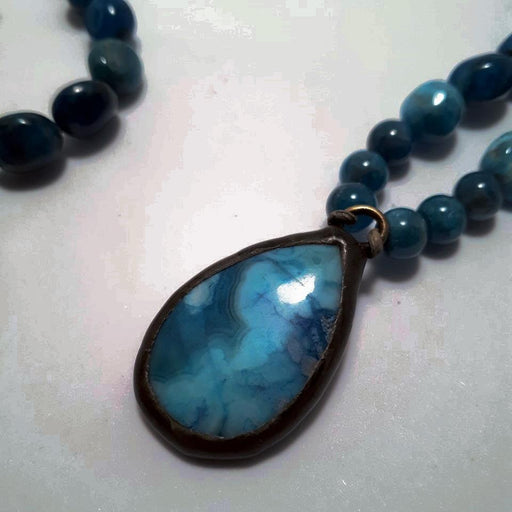 Blue Beauty - Artfest Ontario - Moosonee Puppy Rescue - Jewelry & Accessories