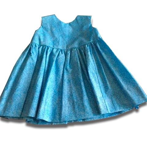 Blue Bell Summer Dress - Artfest Ontario - Muffin Mouse Creations - Clothing & Accessories