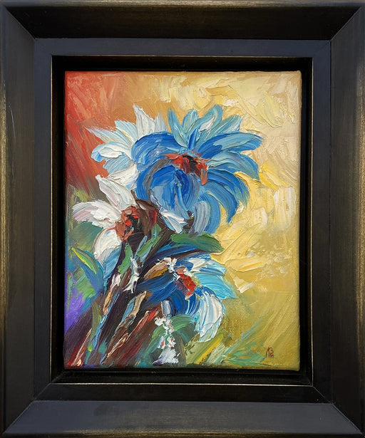 Blue Chrysanthemum - Artfest Ontario - Vladimir Lopatin - Paintings -Artwork - Sculpture