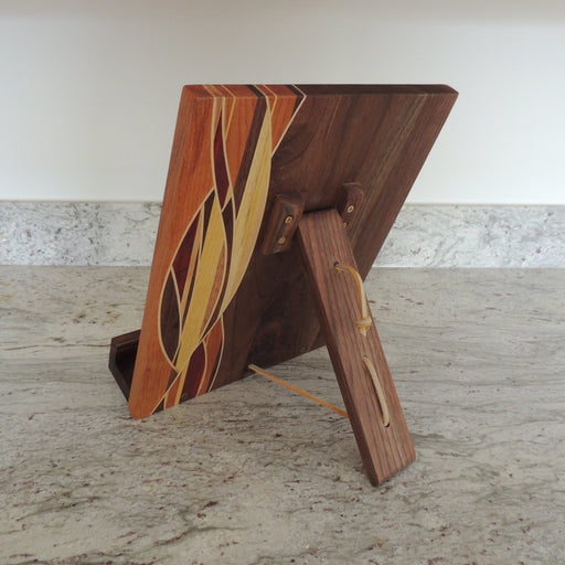 Book / Tablet Holder - Artfest Ontario - Kevin's Offcuts - woodwork