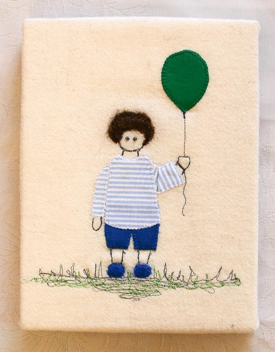 Boy With Balloon - Artfest Ontario - Richenda Ellis - Wall Art