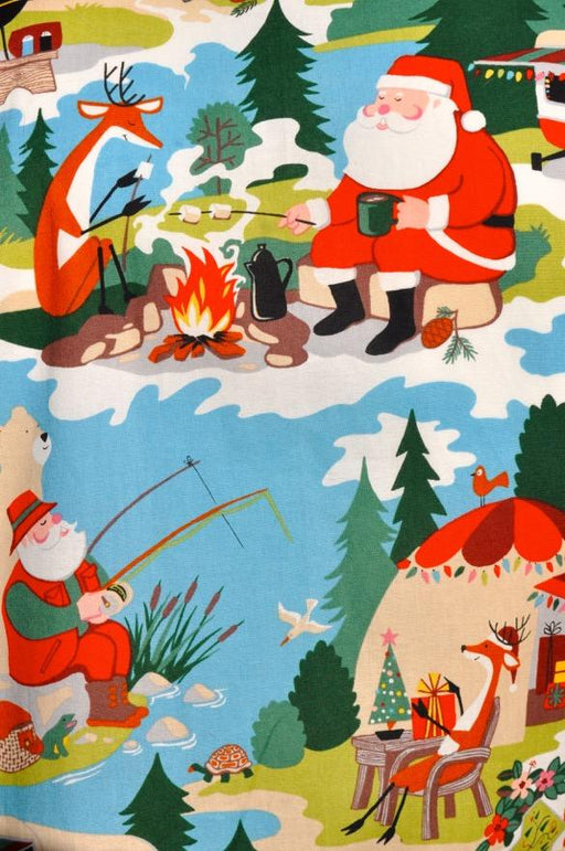 Camping out with Santa - Artfest Ontario - Joe-Feak - Clothing & Accessories