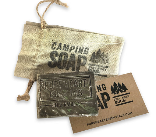 Camping Soap (vegan), stay away bugs! - Artfest Ontario
