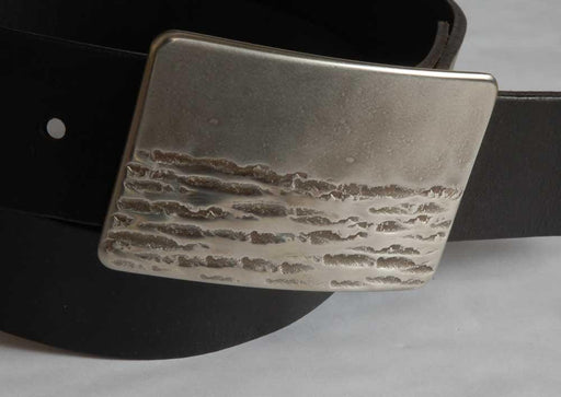 Canadian Landscape Belt Buckle - Artfest Ontario - Iron Art - Clothing & Accessories