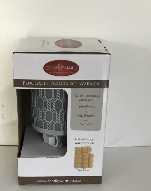 Candle Warmer Pluggable - wire mesh style - soy wax melts - Artfest Ontario - North Country Candle - Furniture & Houseware