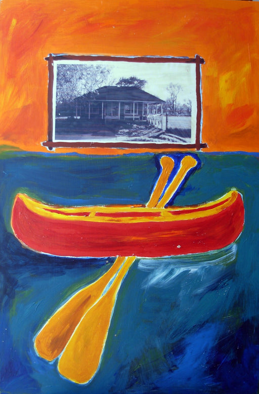 Canoe Club - Artfest Ontario - Lory MacDonald - Paintings, Artwork & Sculpture