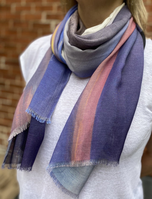 Cape Spear Solstice - Artfest Ontario - Water Wood Style - Modal/Cashmere Wrap