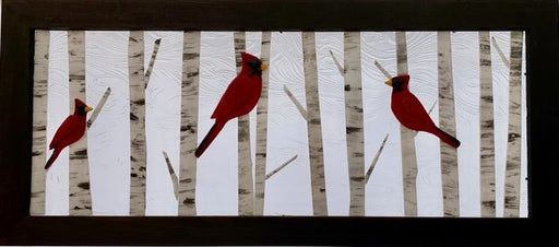 Cardinals and Birch - Artfest Ontario