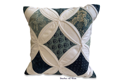 Cathedral window pillow - small - Artfest Ontario - EMA Design Treasures -