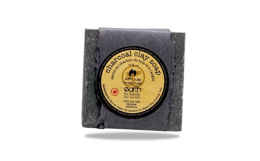Charcoal Clay Soap - Artfest Ontario - Earth to Body - Body Care
