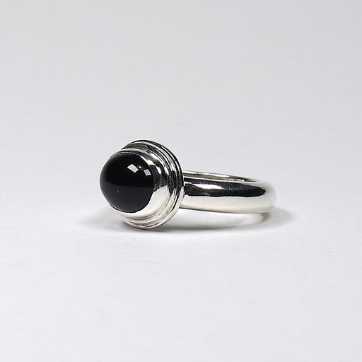 Charlotte -Onyx & Sterling Silver Ring - Artfest Ontario - Devine Fine Jewellery - Ring
