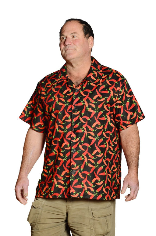 Chilli Peppers Pattern - Hawaiian Shirt - Artfest Ontario - Joe-Feak - Clothing & Accessories