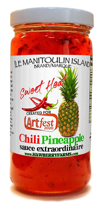 Chilli Pinapple - Artfest Ontario - Manitoulin Gourmet / Hawberry Farms -