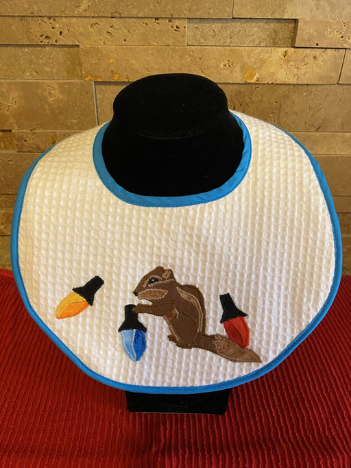 Christmas Chipmunk Baby Bibs - Artfest Ontario - Tamara's Treasured Shop - Home Decor