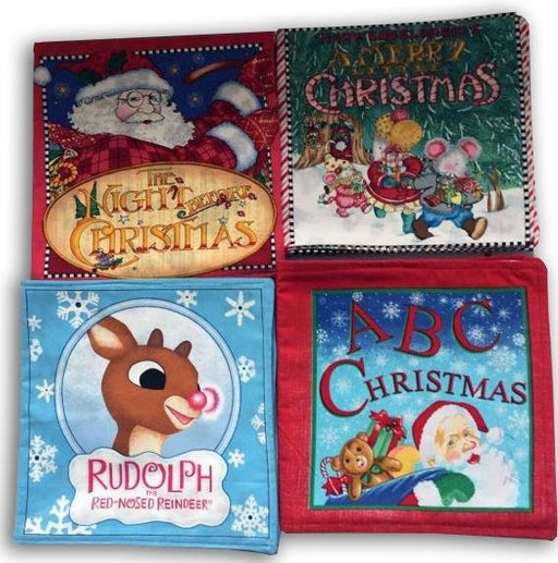 Christmas Cloth Story Books - Artfest Ontario - Muffin Mouse Creations - Toys & Games