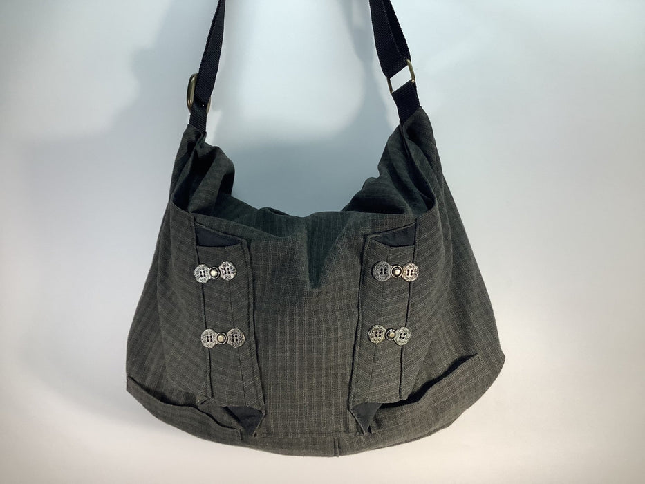Classy Crossbody Hobo Bag #1889 - Artfest Ontario - Revoila Handbags - Clothing & Accessories