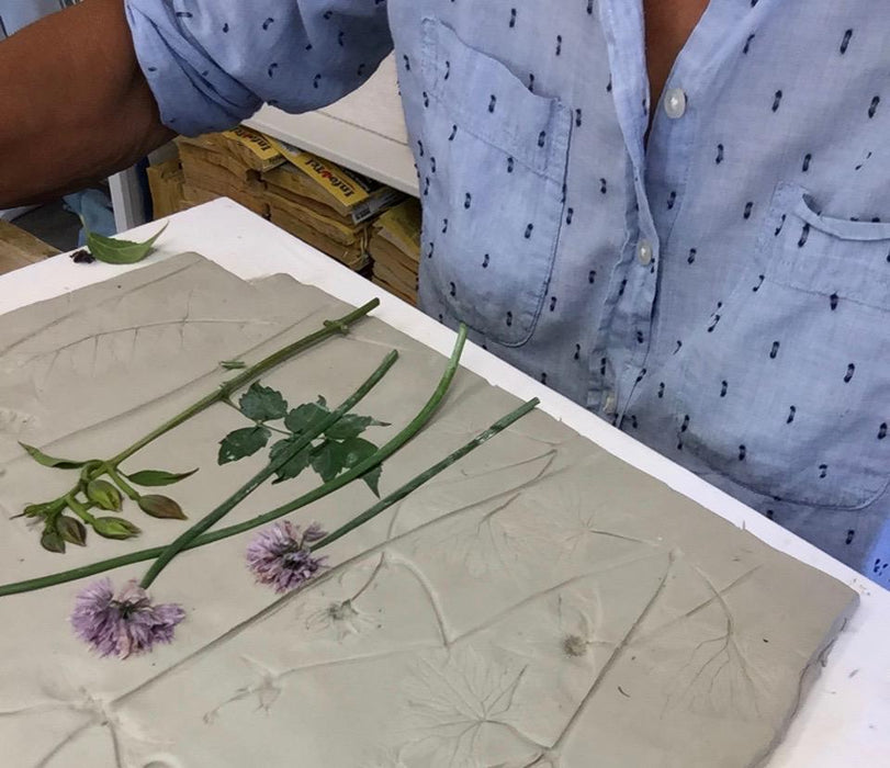 Clematis, Fuchsia and Lavender Large Cast - Artfest Ontario - Botanical Art By Diane - Botanical Casts
