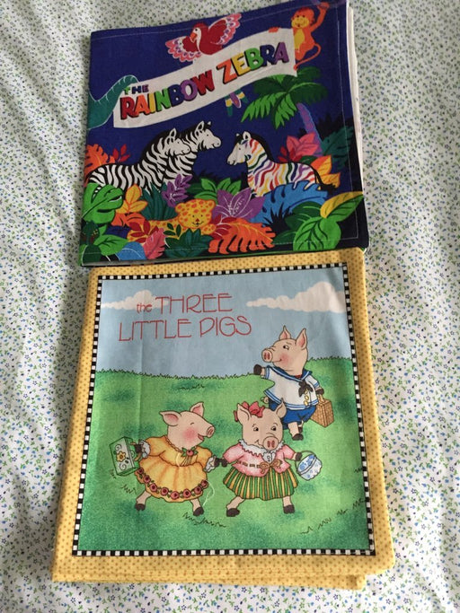 Cloth Story Books - Artfest Ontario - Muffin Mouse Creations - Toys & Games