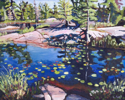 Coloured Pond, Killarney Provincial Park - Artfest Ontario